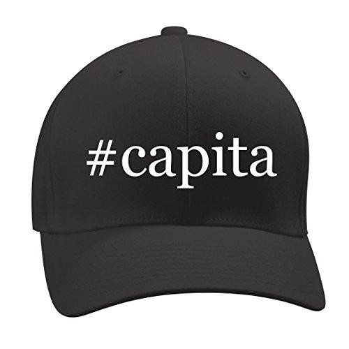 #capita - A Nice Hashtag Men's Adult Baseball Hat Cap, Black, Small/Medium (Capita Hat)