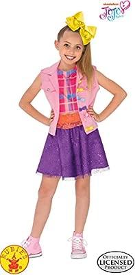 Jojo Siwa Outfit Boomerang Music Video Costume Child Fancy Dress NEW Size L 8-10