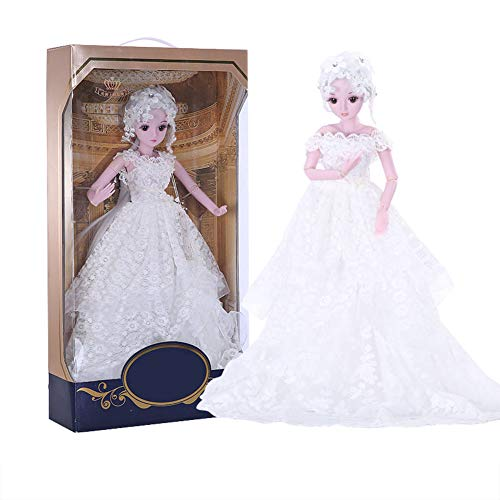 MEMIND Bjd Custom Made Doll White Dress Full