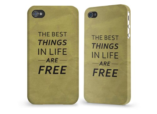 "Hülle / Case / Cover für iPhone 4 und 4s - ""best things sand"" von caseable"