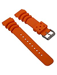 High Quality PU Dive Watch Band for Seiko Z20 Monster b3d468139