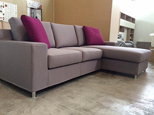 Sofa mit halbinsel reversible Behälter abnehmbar