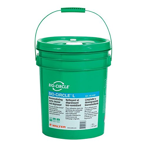 Walter 55A007 Bio-Circle L Industrial Parts Cleaner - VOC-Free, 20 L Pail Degreaser. Oil and Grease Cleaners by Bio-Circle (Image #2)