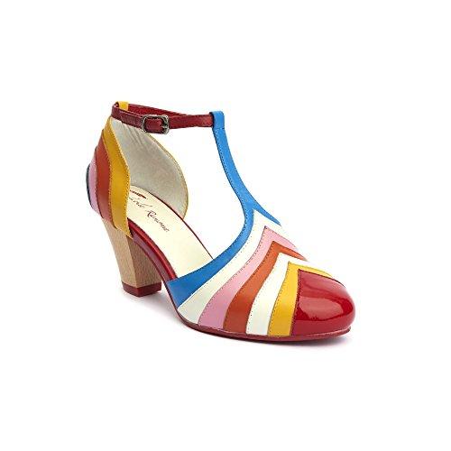 Lola Ramona - Zapatos de vestir de Piel para mujer Blanco blanco