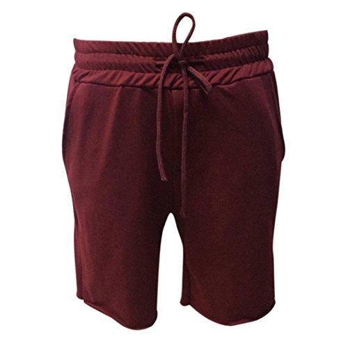 Pour Vin Hommes Familizo❤️ Et Sportswear Bermudas Shorts Du Homme qpp86W5c