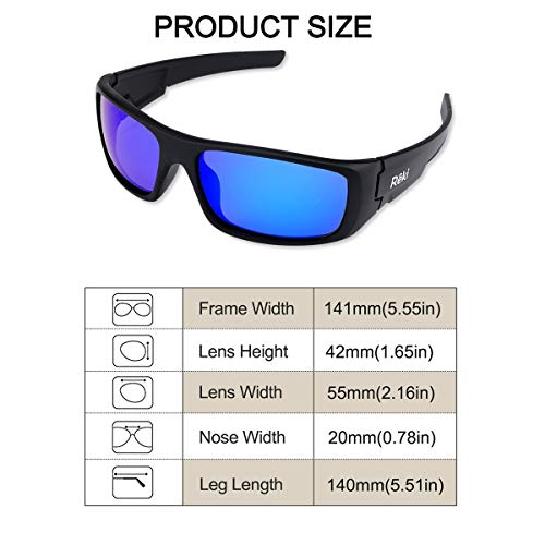f1d098fc9f BEST Premium Unisex Polarized RE327 Unbreakable Frame Sports Sunglasses for Running  Baseball Cycling Fishing Volleyball Driving