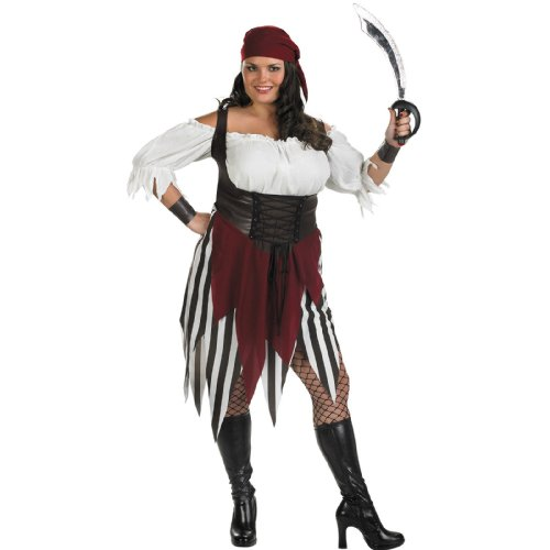 Deckhand Costume (Morris Costumes Women's DECK HAND DARLING PIRATE 18-20)