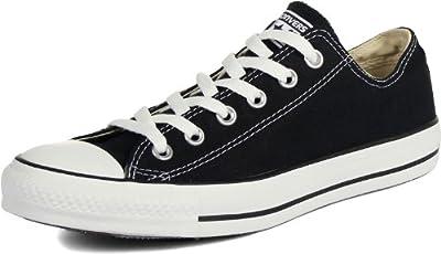 Converse Unisex Chuck Taylor All Star Low Basketball Shoe (10.5 B(M) US Women/8.5 D(M) US Men, Black)