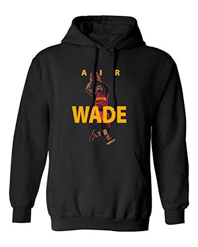 Cavalier Black Sweatshirt (Cleveland Wade AIR Men's Hoodie Sweatshirt (Black,2XL))