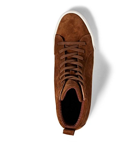 Polo Ralph Lauren Mens Gaven Suede High-top Sneaker Snuff