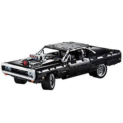 LEGO Technic Fast & Furious Dom's Dodge Charger 42111 Race Car Building Set, New 2020 (1,077 Pieces): Toys & Games