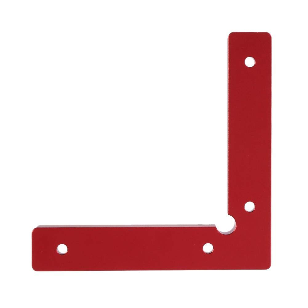 90 Degree Positioning Squares Aluminium Alloy Corner Clamp Angle L Shape Woodworking Metal Welding Fixing Tool