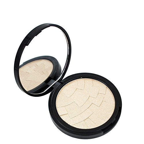 HUBEE 4 Color Highlighter Powder Face Base Palette Highlight Contour Cosmetic Makeup (White Face Makeup Powder)