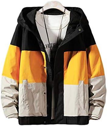 Ptorジャケット メンズ ブルゾン フード付き ウインドブレーカー 薄手 ゆったり ジャンパー カジュアル 切り替え おしゃれ 春服 大きいサイズ