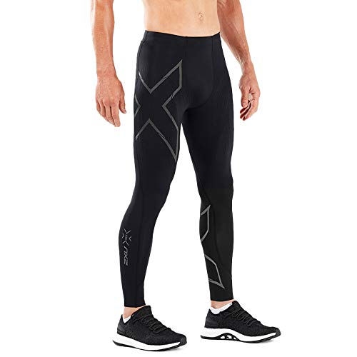 2XU MCS Run Compression Tight, Black/Black Reflective, Large by 2XU (Image #3)
