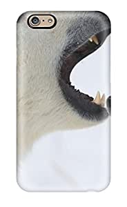 Iphone 6 Polar Bear Print High Quality Tpu Gel Frame Case Cover