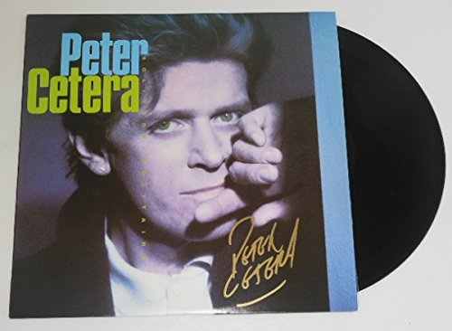 Signature Solitaire (Peter Cetera Solitude/Solitaire Signed Autographed Lp Record Album with Vinyl Loa)