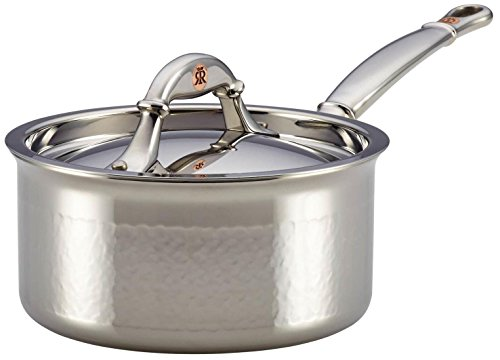 Ruffoni Symphonia Prima 1-1/2-Quart Covered Saucepan - Stainless Steel