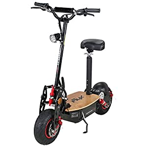 e flux freeride pro electric scooter original 1600 watt 48 v exclusive edition with light and. Black Bedroom Furniture Sets. Home Design Ideas