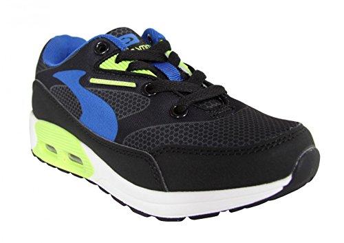 Chaussures de sport pour Garçon et Fille et Femme JOHN SMITH RESO M JR 15I NEGRO-VERDE