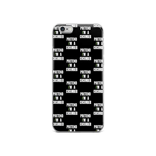 iPhone 6/6s Pure Clear Case Cases Cover Pretend I & # 39; M A Cucumber Veggie Vegan Vegetable Costume Tee -