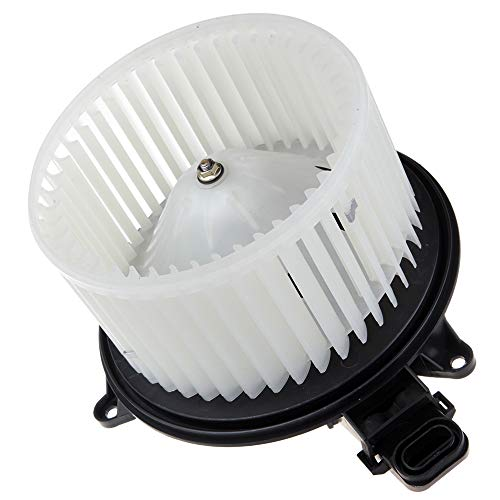 (SCITOO ABS Plastic Heater Blower Motor w/Fan HVAC Resistors AC Blowers Motors fit for 2009-2014 Ford Expedition /2009-2014 Ford F-150/2009-2014 Lincoln Navigator Front)