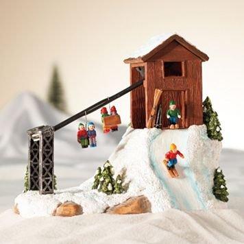 Christmas Village Ski Lift.Amazon Com St Nicholas Village Ski Lift Everything Else