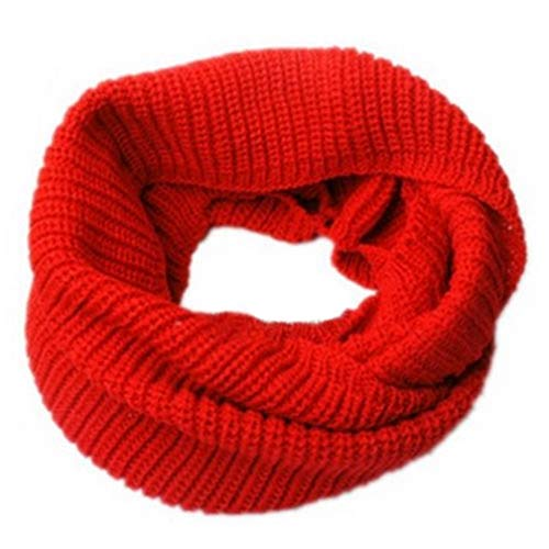 Winter Warm Shawls Infinity Circle Cable Knit Cowl Neck Long Shawl Wrap Scarves Fashion ()