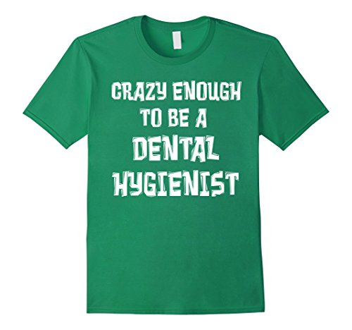 Men's Dental Hygienist Shirt 2XL Kelly Green