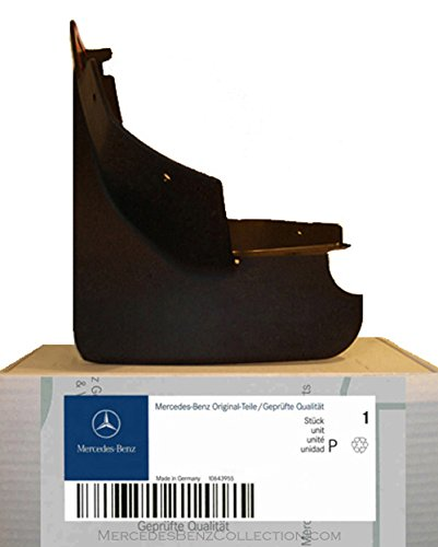 Mercedes-Benz Genuine OEM Mud Flaps/Splash Guards 2015 to 2018 GLA-Class (Set of 4) (Class Mud Flap)