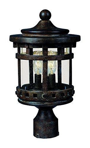 Outdoor Lamp Post Santa - 3