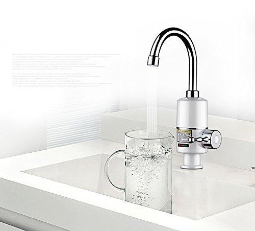 KBAYBO Grifo elé ctrico calentador de agua 220 V/3000 W