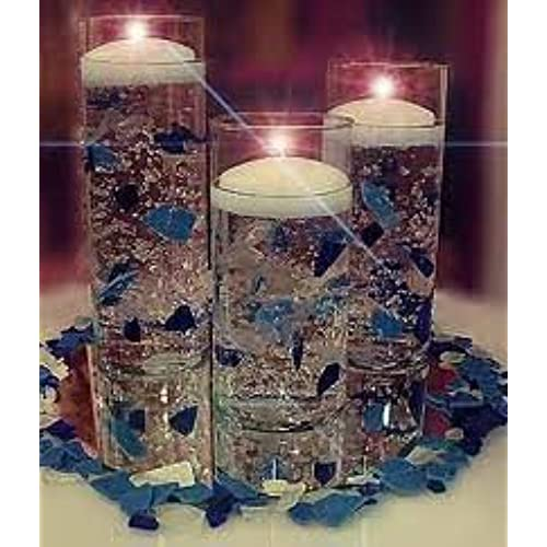 16 Stunning Floating Wedding Centerpiece Ideas: Candle Wedding Centerpieces: Amazon.com
