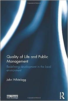 Como Descargar Libros Quality Of Life And Public Management PDF Gratis En Español
