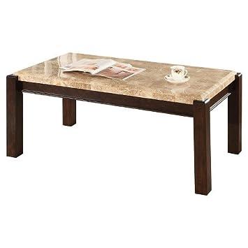 Amazing Amazon Com Acme Charissa Coffee Table Aegean Light Brown Machost Co Dining Chair Design Ideas Machostcouk