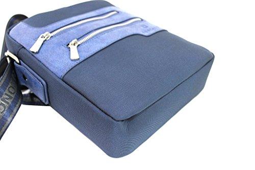 Borsello uomo Roncato tracoll bandoliera 46.58.22 blu