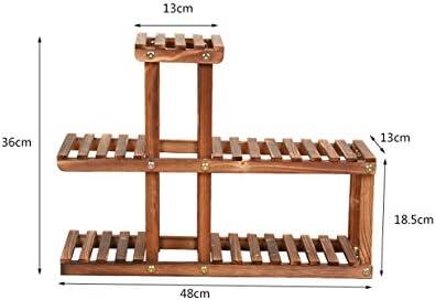 HZA Estantes de madera de la flor, Mini estante creativo de la ...
