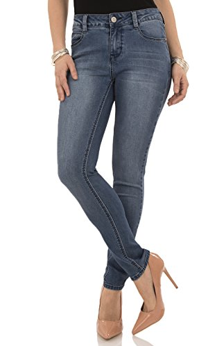 Angels Jeans Women's Signature Skinny Jean, Olivia, (Angels Stretch Denim)