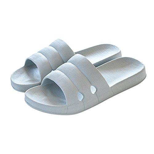 slippers bathroom Home light slippers grey 41 42 EzxnC6wqT