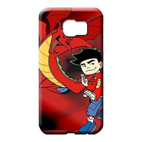 Samsung Galaxy S6 Edge + Plus Classic shell Durable High Grade phone carrying cover skin American Dragon Jake Long