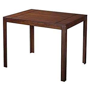 Andres Distressed Counter Height Pub Table   Espresso