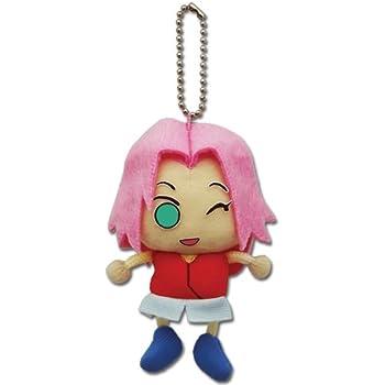 Great Eastern Entertainment Naruto Shippuden Sakura Plush Keychain