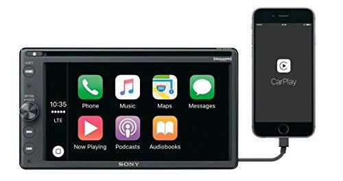 Sony XAV-AX100 6.4' Car Play/Android Auto Media Receiver with Bluetooth