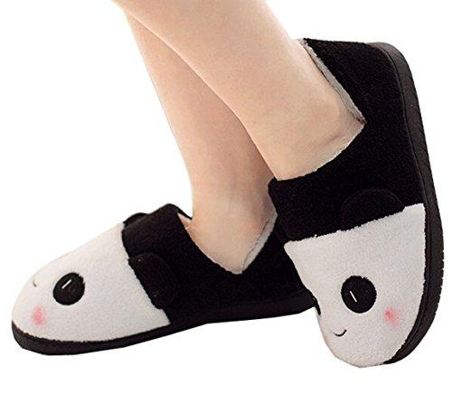 Zapatillas De Casa Suaves De La Felpa Suave De La Casa De Las Mujeres Zapatillas De Casa De Interior Blancas