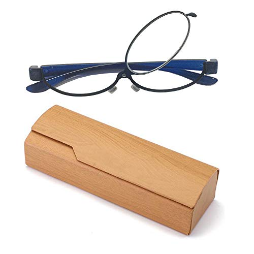 Women Magnifying Makeup Reading Eye Glasses Flip Down Lens Spectacles Folding Cosmetic Glasses
