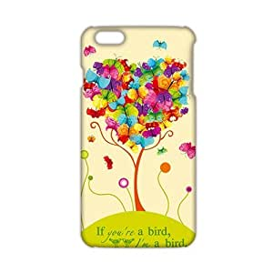 Cool-benz Heart butterfly tree 3D Phone Case for iPhone 6 plus