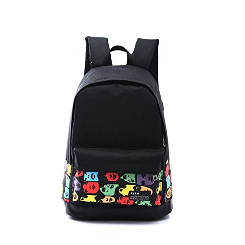 Vintage Preppy Style Laptop Women Hrph 1 Book Backpack For Printing Rucksack Bags Fahsion vwHAIqTHFx
