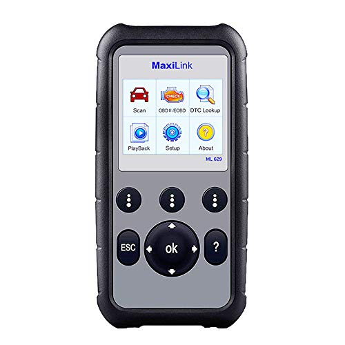 Autel MaxiLink ML629 OBD2 Scanner Upgraded Version of ML619, DTC Lookup, Ready Test, ABS/SRS/Engine/Transmission Diagnoses by Autel (Image #7)