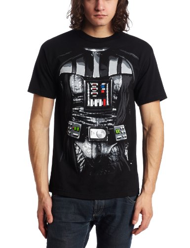 Star Wars Darth Vader Men's Costume T-Shirt (X-Large , Black) - Darth Vader Costumes T-shirt