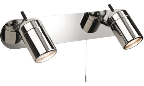 ATLANTIC Twin Bathroom Wall Light Firstlight Products Limited
